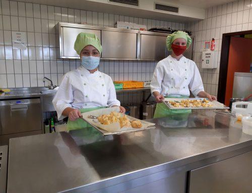 Fachpraktischer Unterricht: Arbeit in der Lehrküche