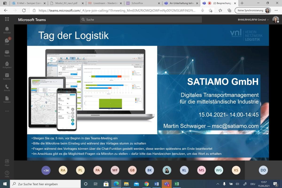Tag der Logistik 2021