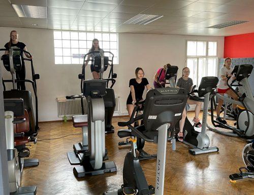 """Sportliche Exkursion ins """"Chili Gym"""""""