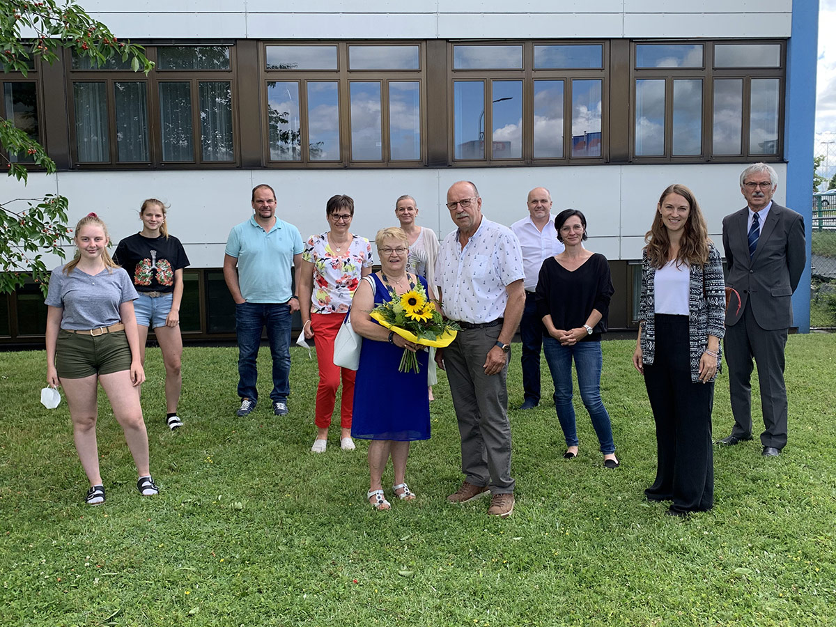 Verabschiedung Franz und Eva Schulmeister